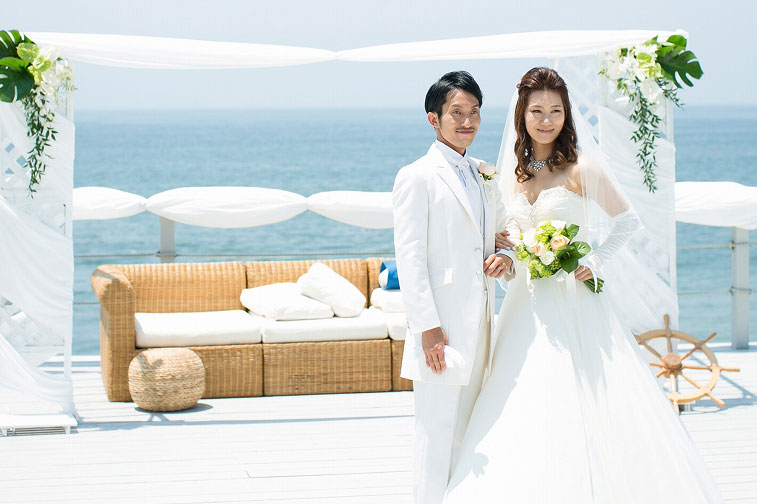 庄子様ご夫妻 結婚式風景2