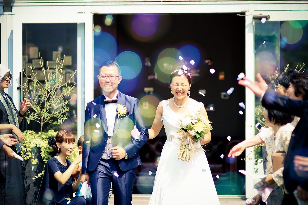 下村様ご夫妻 結婚式風景1