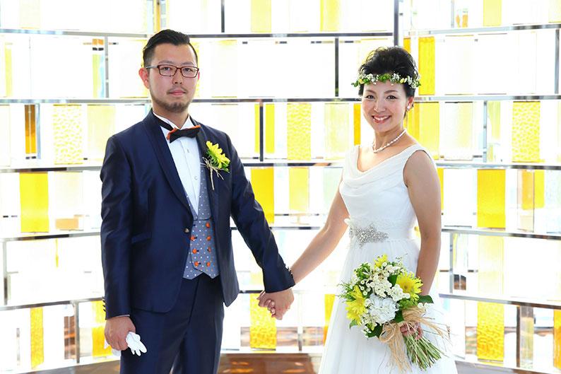 下村様ご夫妻 結婚式風景2