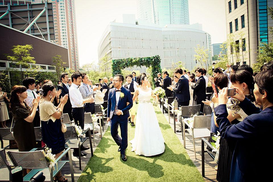下村様ご夫妻 結婚式風景4