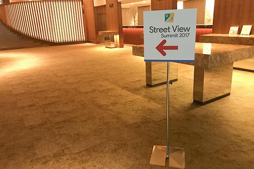 ストリートビューサミット2017 会場 八芳園室内